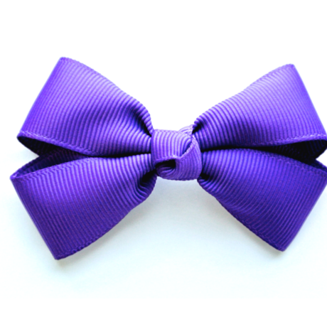 """3"""" Purple hair bow"""