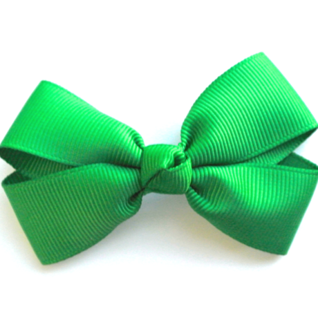 """3"""" Green hair bow"""