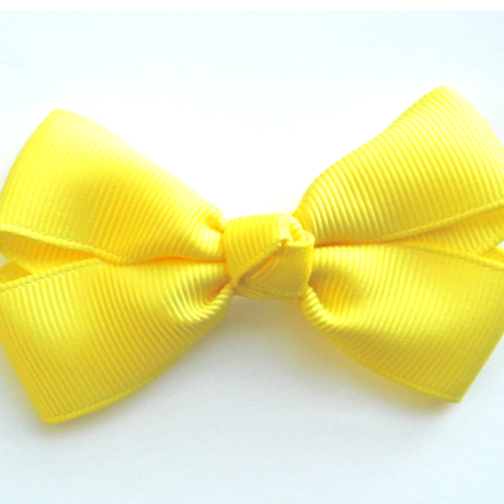 """3"""" Lemon hair bow"""