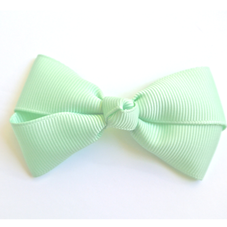 """3"""" Pastel green hair bow"""