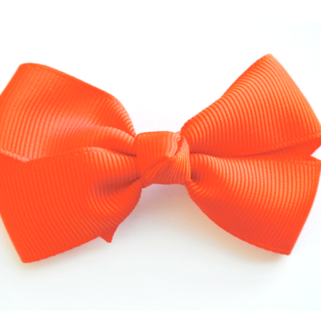"""3"""" Orange hair bow"""