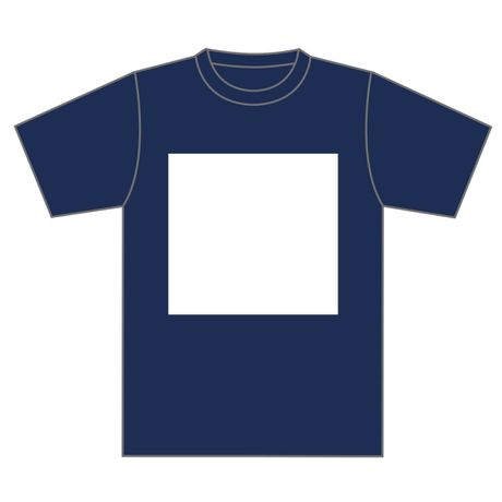 KINETIC TEE NAVY×WHT ver.basic