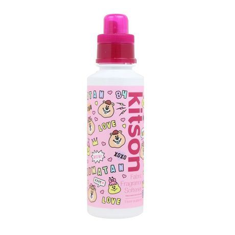 kitson×kumatan Fabric Fragrance Softener(600ml) <キットソン×クマタンコラボ  ファブリックフレグランスソフナー> フローラルポッピングの香り
