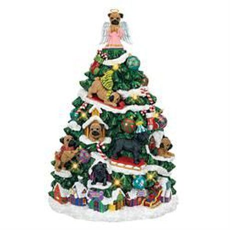The Pug Christmas Tree