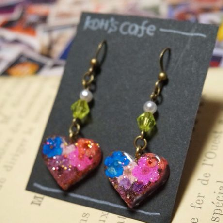flower pierce -heart-