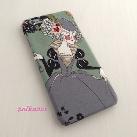 iPhone5/5S/5C/6/6Plus ケース   * ghastlie holidayの貴婦人A