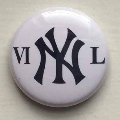 """A.W. Harvest ‎– """" VI NY L"""" Button Badges"""