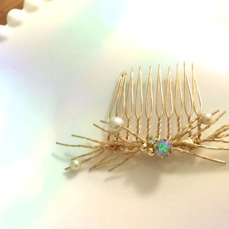 branch hair comb!