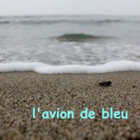 """l'avion 1st album """"l'avion de bleu"""""""
