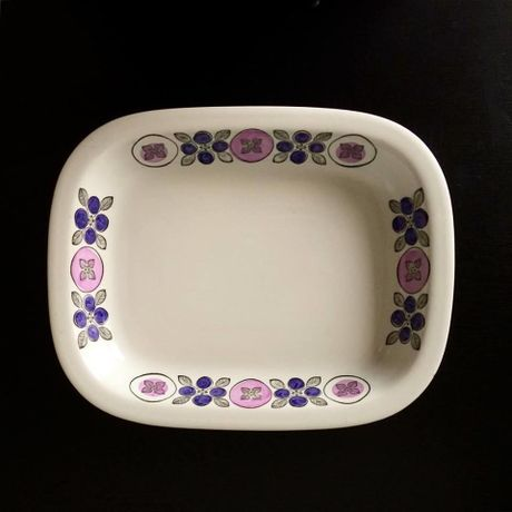 """Square Platter """"Spisa""""for Rorstrand"""