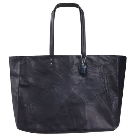 PATCH OFFICE TOTE   (PT02)   BLACK
