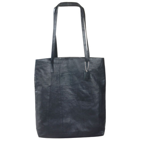 PATCH CASUAL TOTE (PT03)  BLACK