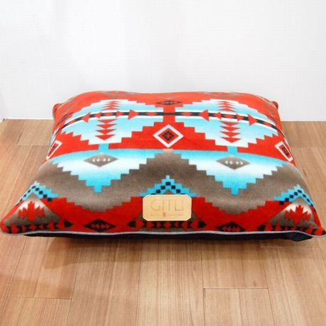 GITLI GOODS THE CAMP BED  RED SMALL