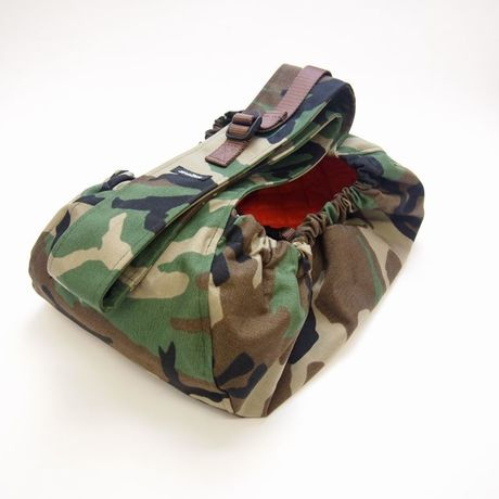 WagWear  Messenger  Pouch Carrier  camouflage Size L