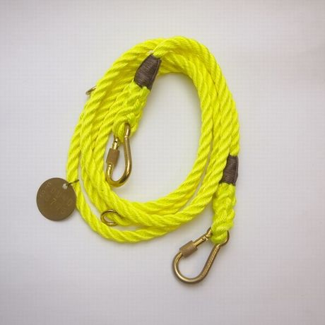 Found My Animal ADJUSTABLE DOG LEASH(YELLOW) new model