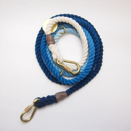 Found My Animal  ADJUSTABLE  DOG LEASH(INDIGO OMBRE)   new  model