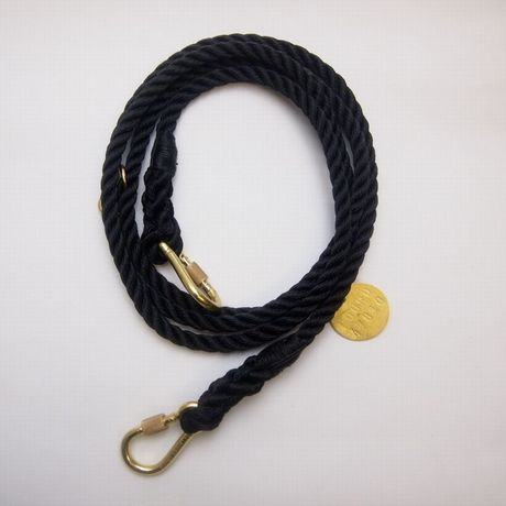 Found My Animal ADJUSTABLE DOG LEASH (BLACK) new model