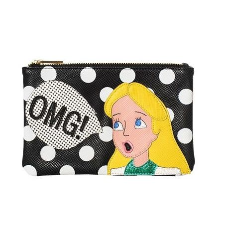 ESSENTIEL OMG! ALICE FAUX LEATHER CLUTCH