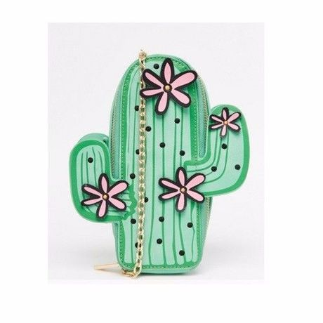 Skinnydip Exclusive Cactus Clutch Bag