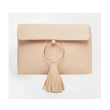 ASOS Giant Tassel Clutch