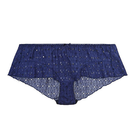 Cotton Love Navy Flare Panty ¥6,600→