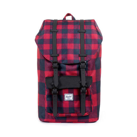 Herschel Supply co.Little America Backpack Buffalo Plaid/Black Rubber