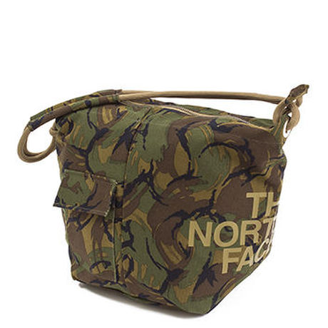 THE NORTH FACE PURPLE LABEL Camouflage Cotton Canvas Shoulder Bag L