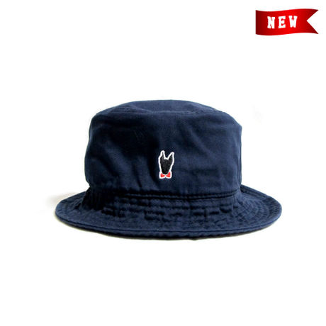 Logo Bucket Hat / Navy