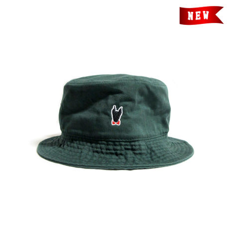 Logo Bucket Hat / Dark Green