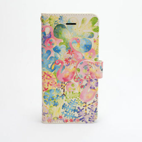 """iPhone Case_Notebook Style """"Flamingo"""""""