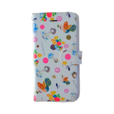 """iPhone Case_Notebook Style """"Josephine Pattern"""""""