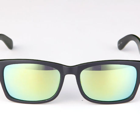 """Livly """"Basic Mirror"""" Dark Green / Green Mirror Sunglass"""