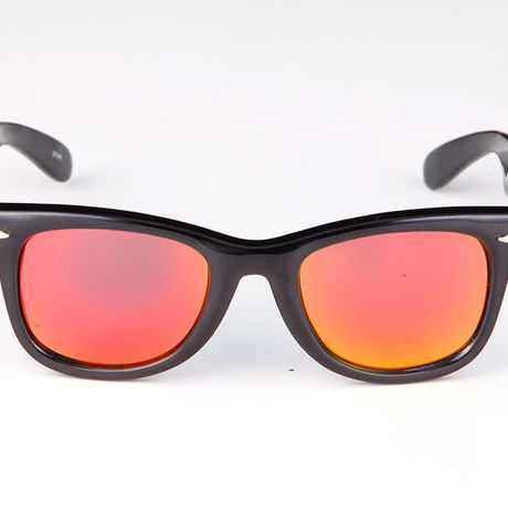 """Livly """"Lil' Funk"""" Black / Red Mirror Sunglass"""
