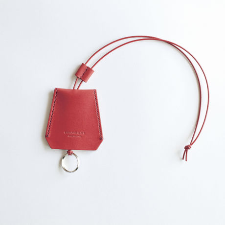 """key necklace ""red"""""""