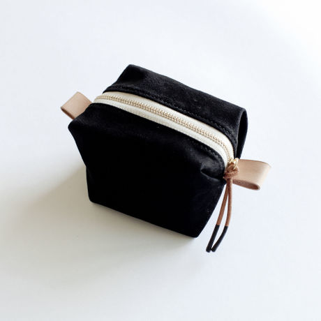"""bread pouch mini """"black"""""""