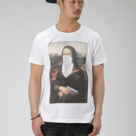 GANGSTA Mona Lisa  T shirts / UNOFFICIAL