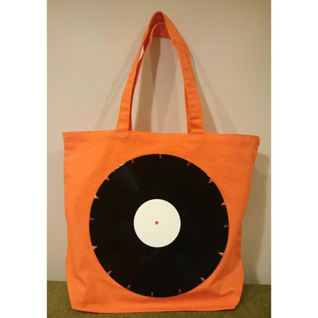 bagu canvas tote L  orange