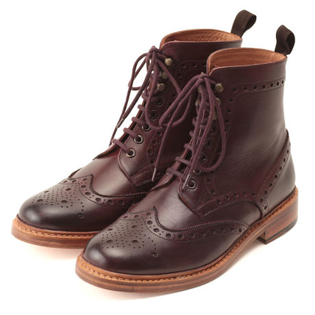 No.602|Country Boot|Burgundy