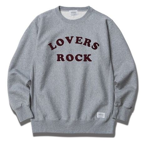 FUCT/SSDD 6904 LOVERS ROCK CREWNECK SWEAT (H.GRAY)
