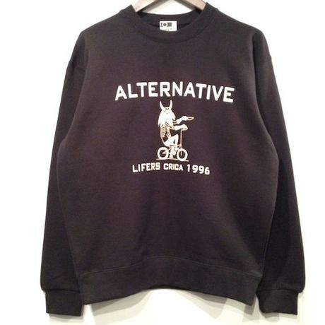 """LIFERS L-003 """"ALTANA"""" SWEAT (BLACK)"""