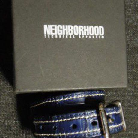 NEIGHBORHOOD BORSTAL/CL-WRIST BAND