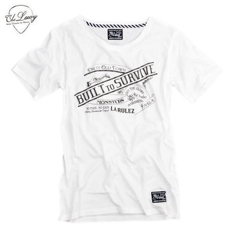BUILT TO SURVIVE TEE [WHITE]
