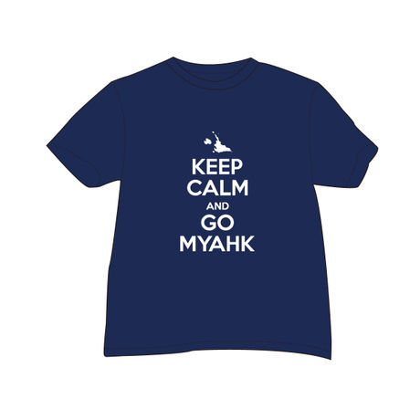 KEEP CALM Tee _navy_
