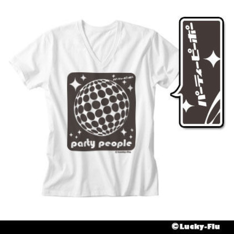 PARTY PEOPLE / パーティーピーポー Tシャツ
