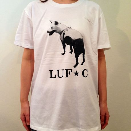 LUF★C DOG DR T-Shirt WHITE animal-T