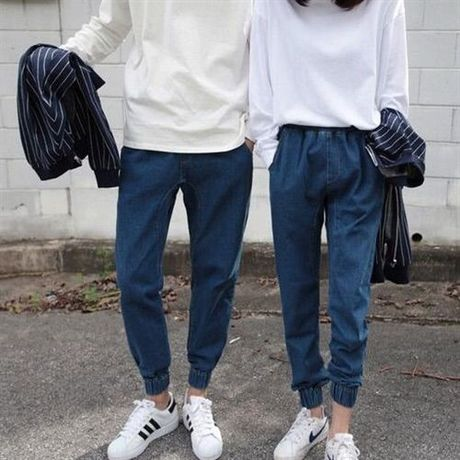 LM denim lib pants