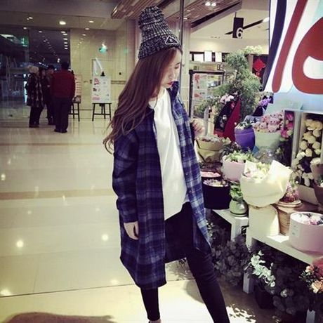 LM check long shirt