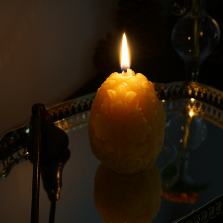 easter egg candle