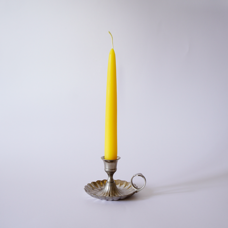 beeswax straight taper candle 8inchi
