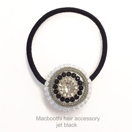 Macboothi hair accessory / jet black
